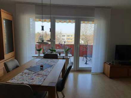 Für Kapitalanleger: Gepflegte 2-Raum-Wohnung mit Balkon und Einbauküche in Frankenthal (Pfalz)