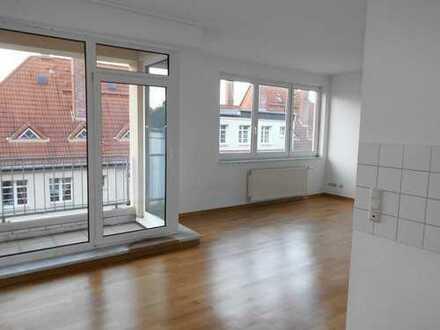 1-Zimmerwohnung mit Balkon in Plagwitz