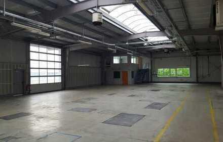 NEU strukturierter Gewerbepark - Hallenflächen zur flexiblen Nutzung / optional zzgl. Büro