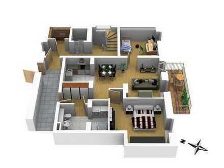 Wohnen wo andere Urlaub machen - Exklusive 3 Zimmer Wohnung auf 77m² mit Balkon