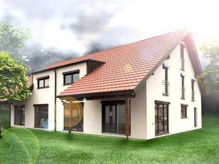 Doppelhaushälfte 1 inkl. Grundstück und Erschließung