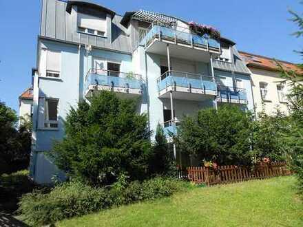 DG-Wohnung mit Balkon in ruhigem Gartenhaus - Fichtestraße 7 -
