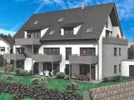Baubeginn ist erfolgt - Exklusive Neubau-Gartenwohnung in Augsburg-Göggingen