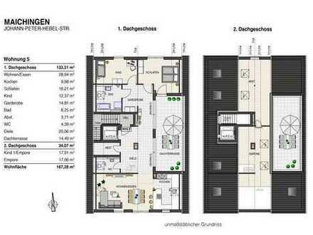 Wunderschöne 4 Zi. Galerie–Wohnung mit Aufzug - stadtnah - ruhig und bildschön gelegen!