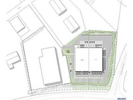 Gewerbeentwicklung | 2100 m² Hallenfläche für Lager und Produktion | Neubau