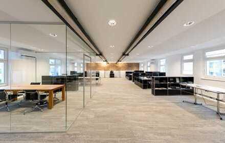 Begehrte Büroflächen in einem Oberkasseler Artelierhaus