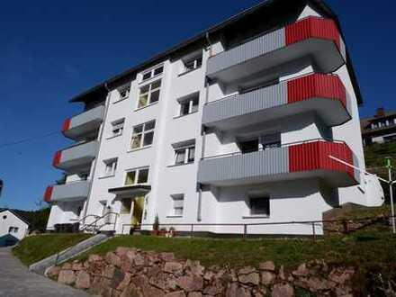 Schöne 3 Zimmer Wohnung mit Balkon und Keller in 78148 Gütenbach, WM:680€