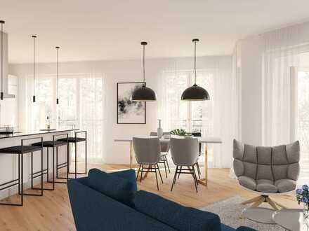 Neues Wohnen am Nockherberg SÜD! Ideal geschnittene 4-Zimmer-Wohnung mit viel Freiraum und Loggia