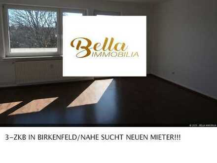 ~~3-ZKB IN BIRKENFELD/NAHE SUCHT NEUEN MIETER!!!~~MIT BALKON & PKW-STELLPLATZ!!!