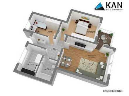 Schöne, geräumige 3 Zimmer Wohnung