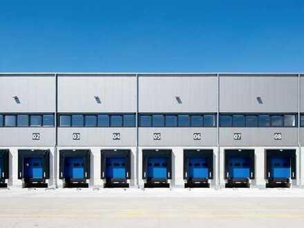 """BAUMÜLLER & CO."" - 10.000 m² moderne Logistikhalle - direkt an der BAB"