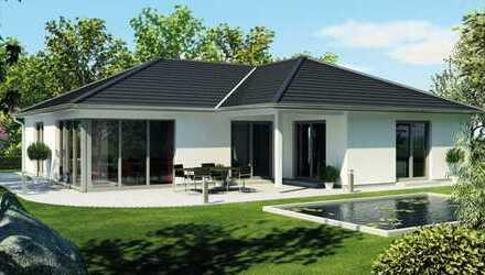 Neubau-Winkelbungalow in attraktiver Wohnlage