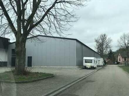 Hochwertige Lager und Produktionshalle mit Verwaltungstrakt