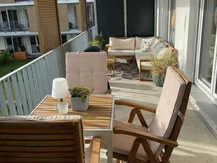 provisionsfreie 3-Zimmer-Wohnung inkl. 2 Tiefgaragenstellplätzen und EBK