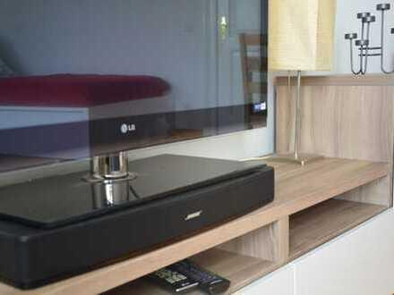 Neuwertige 1-Zimmer-Wohnung mit Balkon und Einbauküche in Göppingen