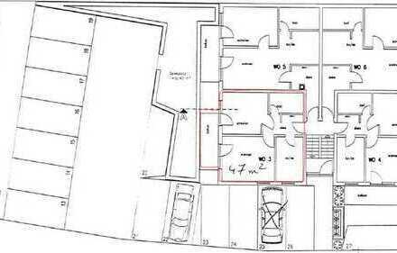 Gepflegte 2-Zimmer-Wohnung mit Balkon und Stellplatz in Hatzenbühl