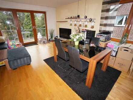 TOP! Einladende Wohnung mit Parkett, Fußbodenheizung und S/W-Balkon in D-Lichtenbroich