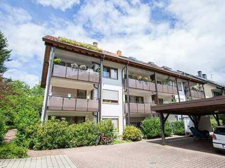Wohnen im schönen Wildtal - Gepflegte 3-Zimmer-Eigentumswohnung