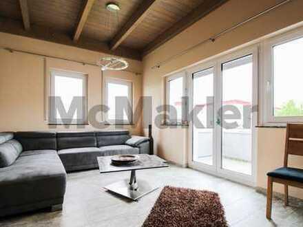Moderne 3-Zi.-ETW mit 2 schönen Balkonen, Garage und Stellplatz nahe Schweinfurt