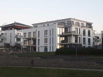 Exklusive Penthouse-Wohnung mit 149 qm Dachterrasse am Phönixsee in Dortmund