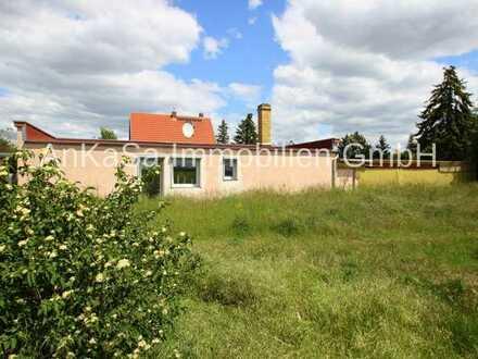 AnKaSa Immobilien GmbH*Kleines Haus*Leipzig*am Feld*überdachte Terrasse* Garten* Brunnen*Carport