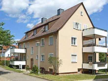 Gemütliche 3-Zimmer-Dachwohnung in ruhiger Lage