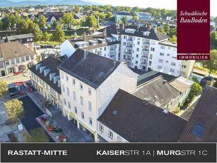 Attraktives, solides Wohn-und Geschäfthaus mit 10 Wohnungen+2 Gewerbeeinheiten in perfekter Lage +++