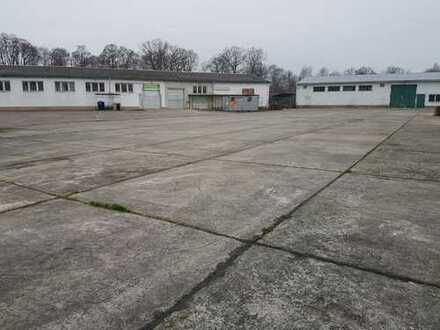 Letzte Chance, 300 m² Lagerhalle nahe der B5 im Gewerbehof Friesack zu vermieten!