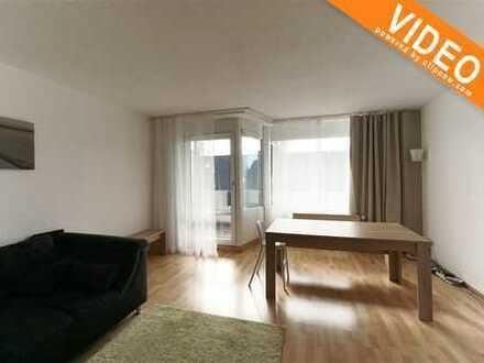 Gepflegte 3-Zimmer Wohnung mit Balkon und Tiefgaragenstellplatz!