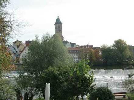 Zentral gelegene 1-Zi-Whg mit Neckarblick,ruhig,renoviert,Einbauküche