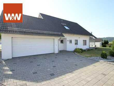 TOP EFH mit exklusiven Highlights in bevorzugter Wohnlage von Abtsgmünd- Wintergarten, Sauna und DG
