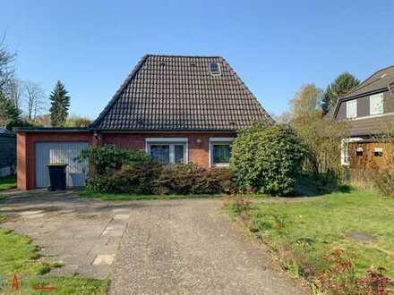 HH-Meiendorf - gepflegtes Einfamilienhaus mit Ausbaupotenzial