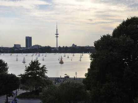 Gepflegte 3-Zimmer-Wohnung mit Alsterblick in Hohenfelde, Hamburg