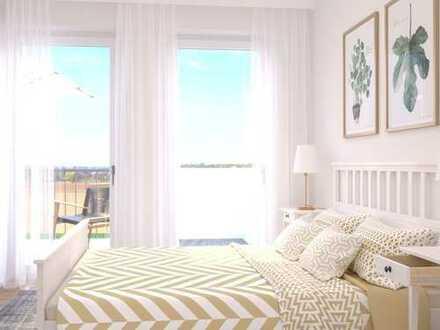 Top-Investition! Moderne 2-Zimmer-Wohnung mit großem Balkon an leistungsfähigem Wirtschaftsstandort