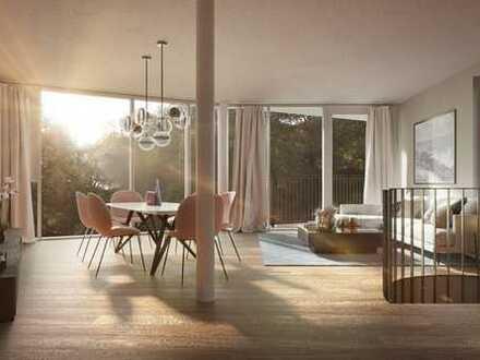 3-Zimmer-Neubauwohnung mit Süd-Balkon in den FLURTERRASSEN