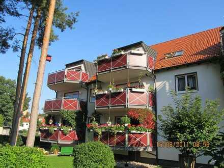 Schöne 2 Zimmer Wohnung im 1. OG mit großem Sonnenbalkon in Lehnitz