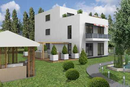 Neubau: Erdgeschosswohnung mit Terrasse und Garten
