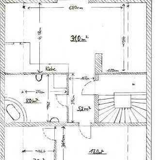 Hochwertige 2,5-Zimmer-DG-Whg. mit Balkon und Einbauküche direkt in 84416 Taufkirchen/Vils