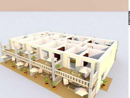 """""""In Ostseenähe"""" modernes Reihenhaus Nr. 4 mit 2 Balkonen,2 Terrassen u. unverbaubarem Blick"""