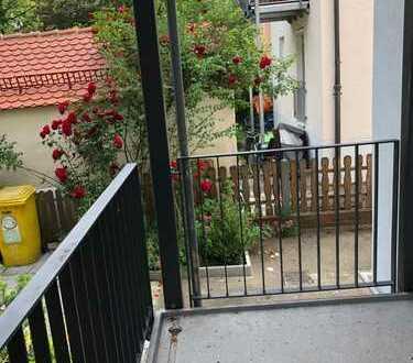 Wohnung mit Balkon direkt an der Wertach
