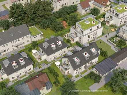 Neubau einer 3 Zimmer Gartenwohnung in guter Lage von Germering
