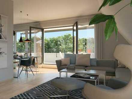Bienvenue! Dachgeschoss-Maisonette mit 2 Dachterrassen und tollem Skyline-Blick ** 360° Rundgang**