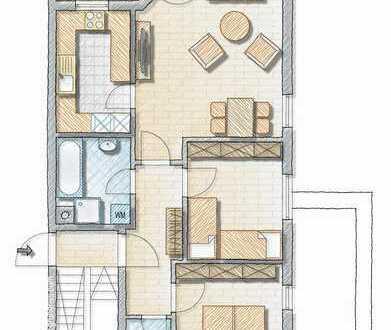 Gemütliche 3-Zimmer-Wohnung im Raunerviertel!