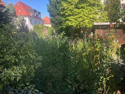 Wohnung mit eigenen Garten/ Sauna/Garage und Stellplatz