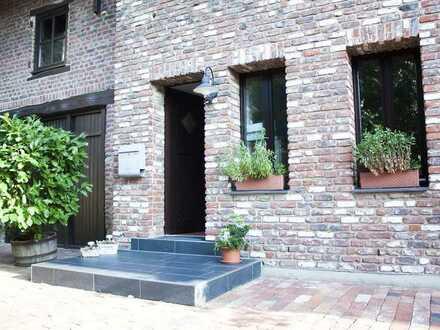 ruhige 125qm 2 Etagen-Wohnung mit 80qm Garten & Gartenhaus