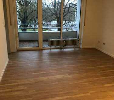 1-Zi.-Whg., 96050 Bamberg, Kunigundendamm, eingerichtete Küche, Balkon, auch m. Möbeln möglich