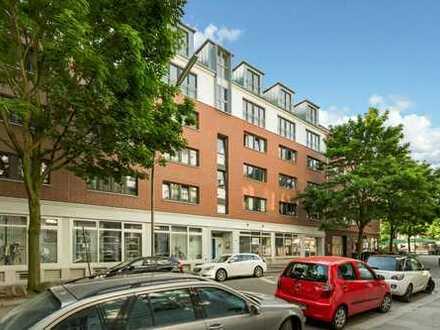 Dachgeschoss, Maisonette, Einbauküche, Balkon, umfassend modernisiert