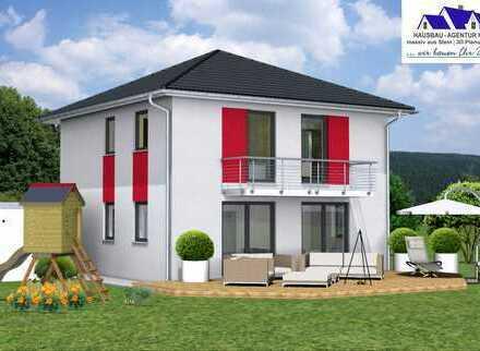 Modernes Wohnen für die junge Familie in Marktheidenfeld - schlüsselfertige Stadtvilla -