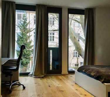 Theresienwiese, luxuriöses City-Apartement, möbliert, modern - Urbanes Wohnen !