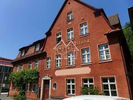 Rarität: TOP-Gewerbeflächen in historischem Ambiente mitten in Lauf an der Pegnitz